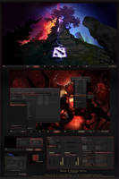 Dota 2 Windows Desktop by yorgash