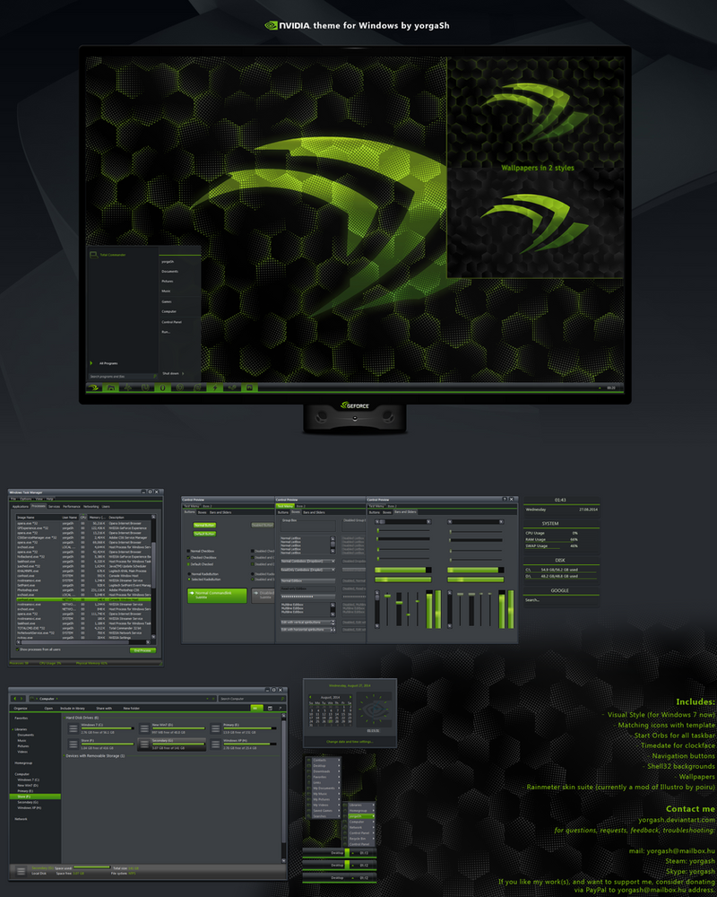 nVidia Desktop by yorgash