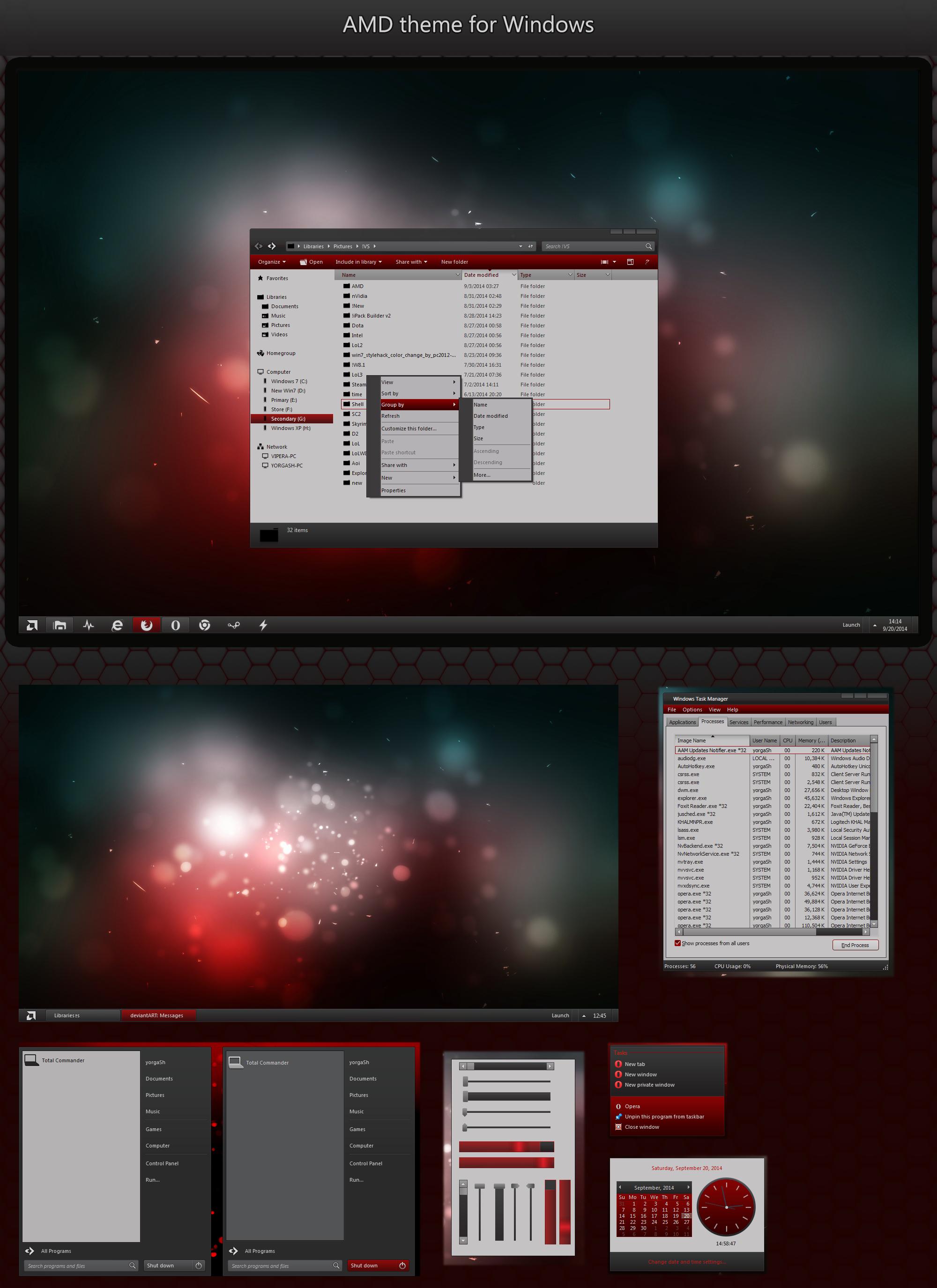 AMD Windows Desktop for Windows 7