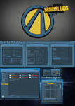Borderlands theme for Windows 7