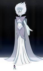 White Diamond- Steven Universe by LaniWolves