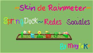 SpringDock~ Redes Sociales by MayteKr