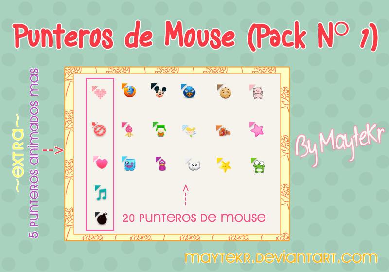 descargar punteros de mouse animados gratis