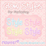 Glow Styles for Photoshop