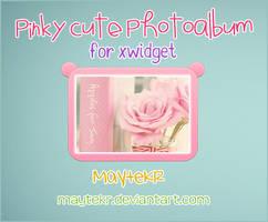 PinkyCute Photoalbum for XWidget by MayteKr