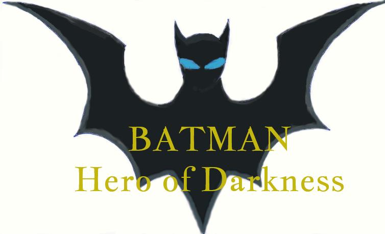 Batman: Hero of Darkness Logo by ThunderGoku