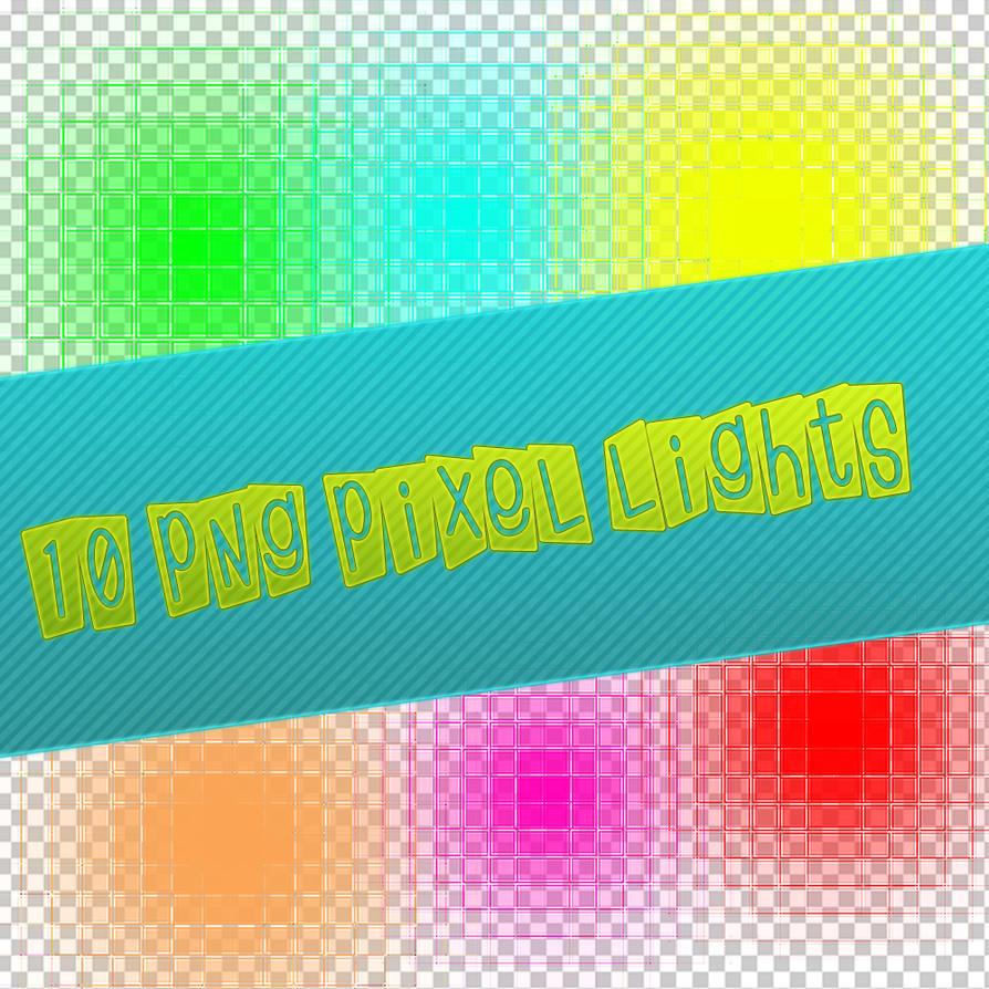 PNG Pack Pixel Light by Kumahuara
