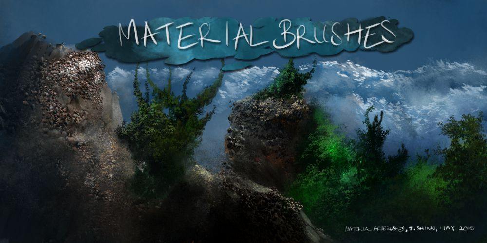 Material Brushes- For Krita Users by Jshinncreative on DeviantArt