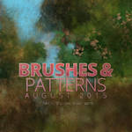 Holiday Art Brushes and Patterns