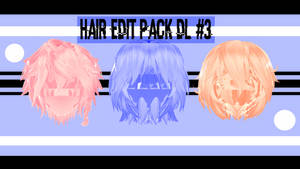 Hair  Edit  Pack DL  #3