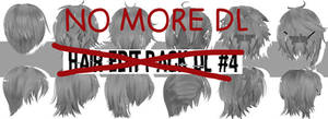 Hair Edit Pack Dl! #4 // By-MosterNight-MMD