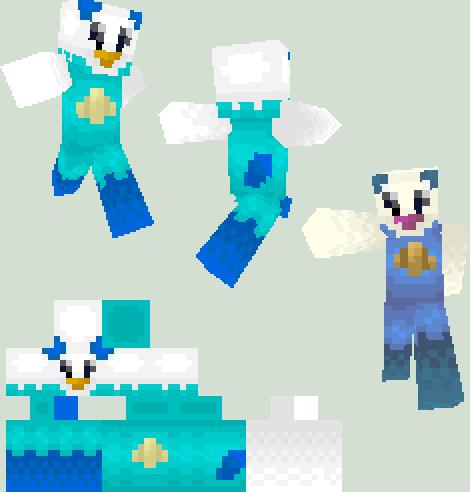 Minecraft Skin: Oshawott by Spycrab