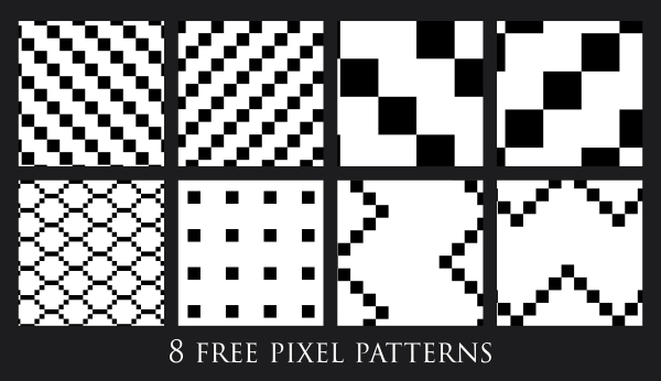 40 Free Pixel Patterns By Murr40 On DeviantArt Impressive Pixel Patterns