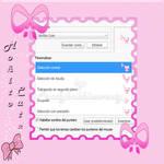 Cursor pink bow