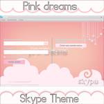 Pink Dreams Skype Theme