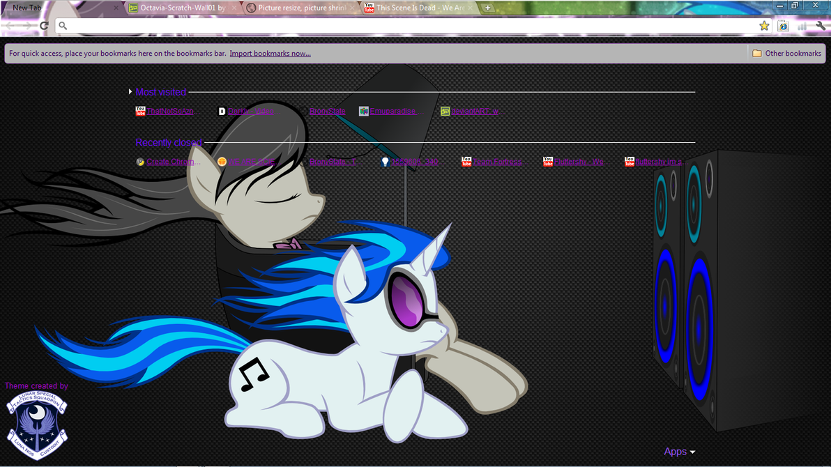 MLP:FiM - Octavia Scratch by Lagmobile