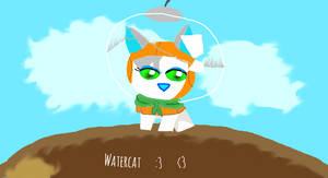 Ciara13AJ's drawing of TheSponge's Watercat!