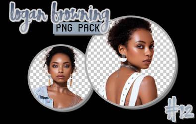 Logan Browning png render pack - 12 renders