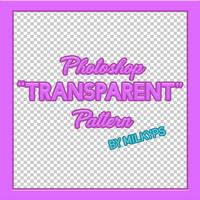 Photoshop Transparent Checkered Pattern.pat