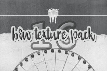 Black and White Texture Pack