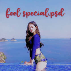 feel special psd coloring