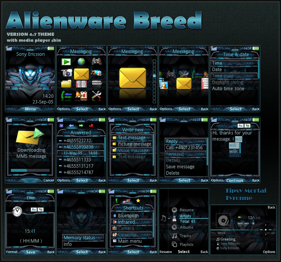 theme alienware breed