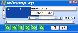 winamp xp by trankillity