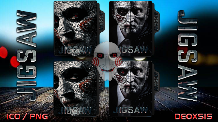 Jigsaw [2017] Folder Icon PACK by deoxsis on DeviantArt