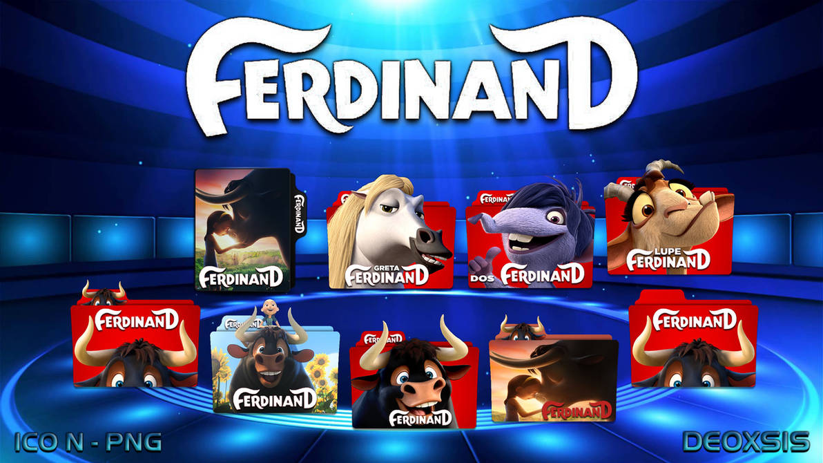 Ferdinand 2017 Folder Icon Pack By Deoxsis On Deviantart