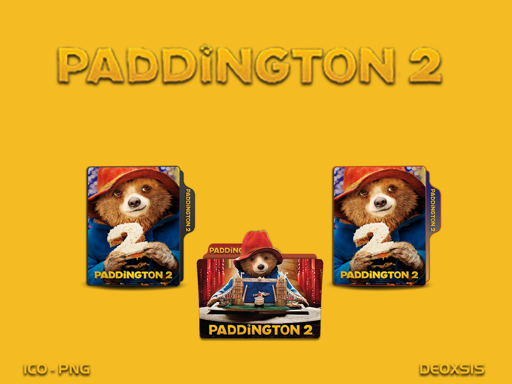 Paddington 2 2017 Folder Icon Pack By Deoxsis On Deviantart