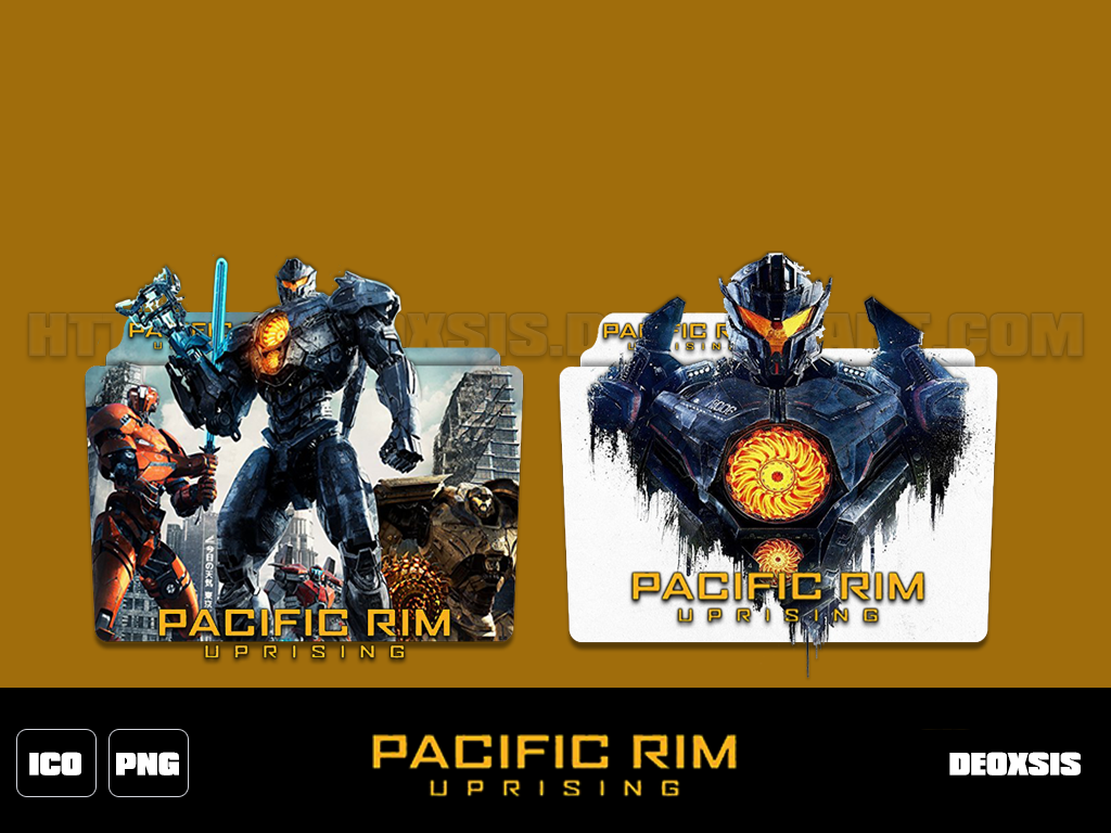 Pacific Rim Uprising 2018 Folder Icon Pack By Deoxsis On Deviantart