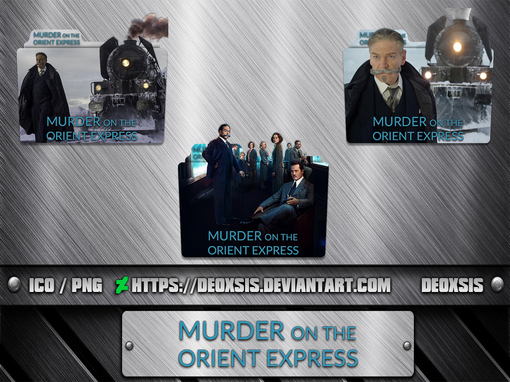 Murder On The Orient Express 2017 Folder Icon By Deoxsis On Deviantart