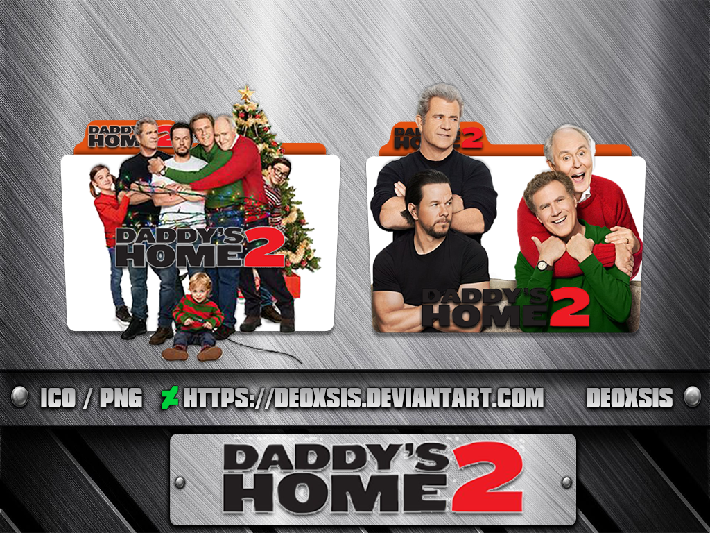 Daddy S Home 2017 Folder Icon Pack By Deoxsis On Deviantart