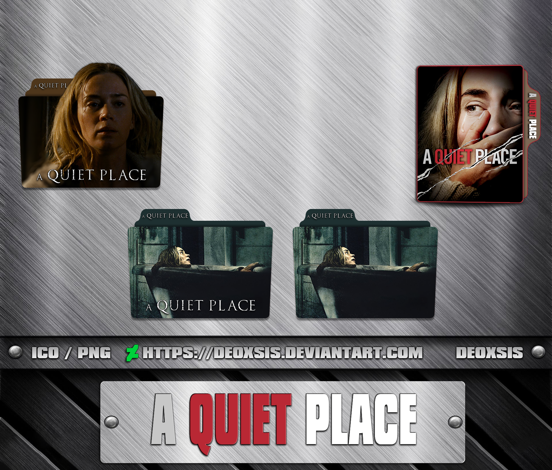 A Quiet Place 2018 Folder Icon Pack By Deoxsis On Deviantart