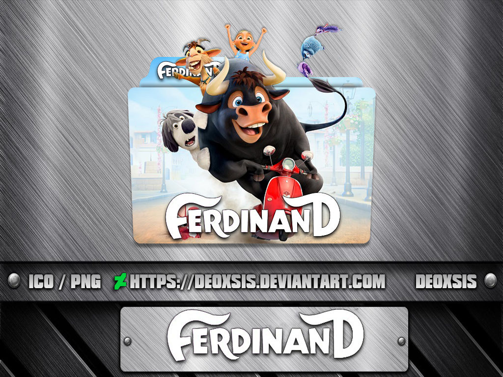 Ferdinand 2017 Folder Icon V2 By Deoxsis On Deviantart