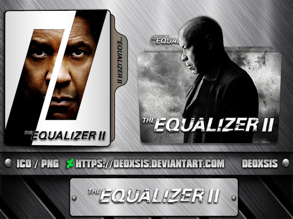 The Equalizer Ii 2018 Folder Icon Pack By Deoxsis On Deviantart