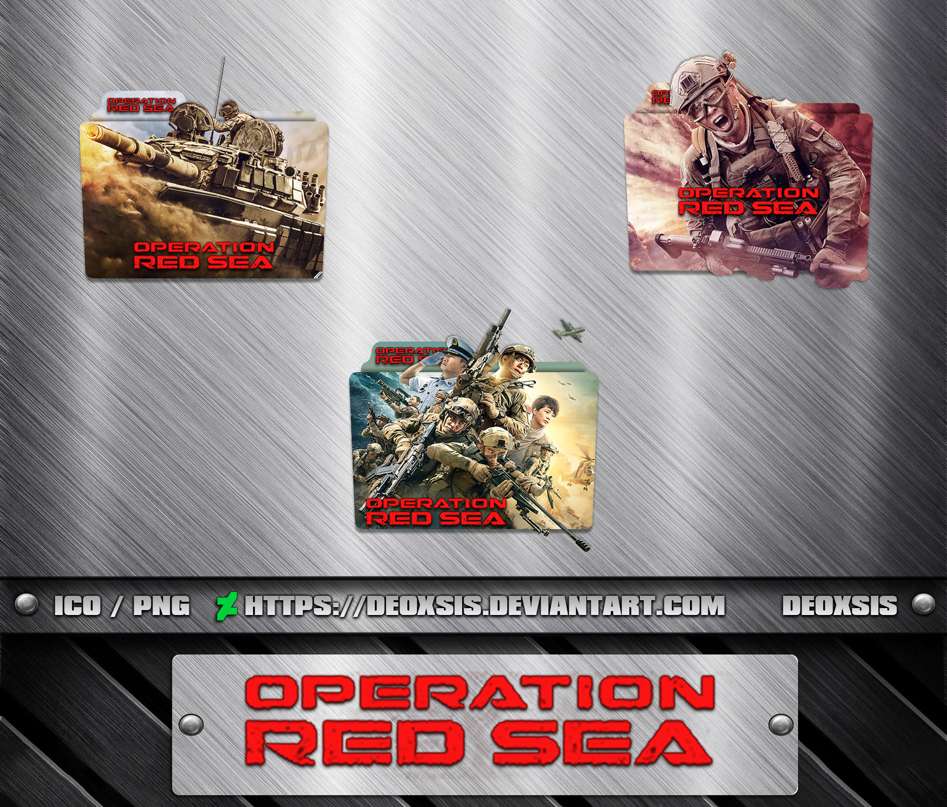Operation Red Sea 2018 Folder Icon Pack By Deoxsis On Deviantart