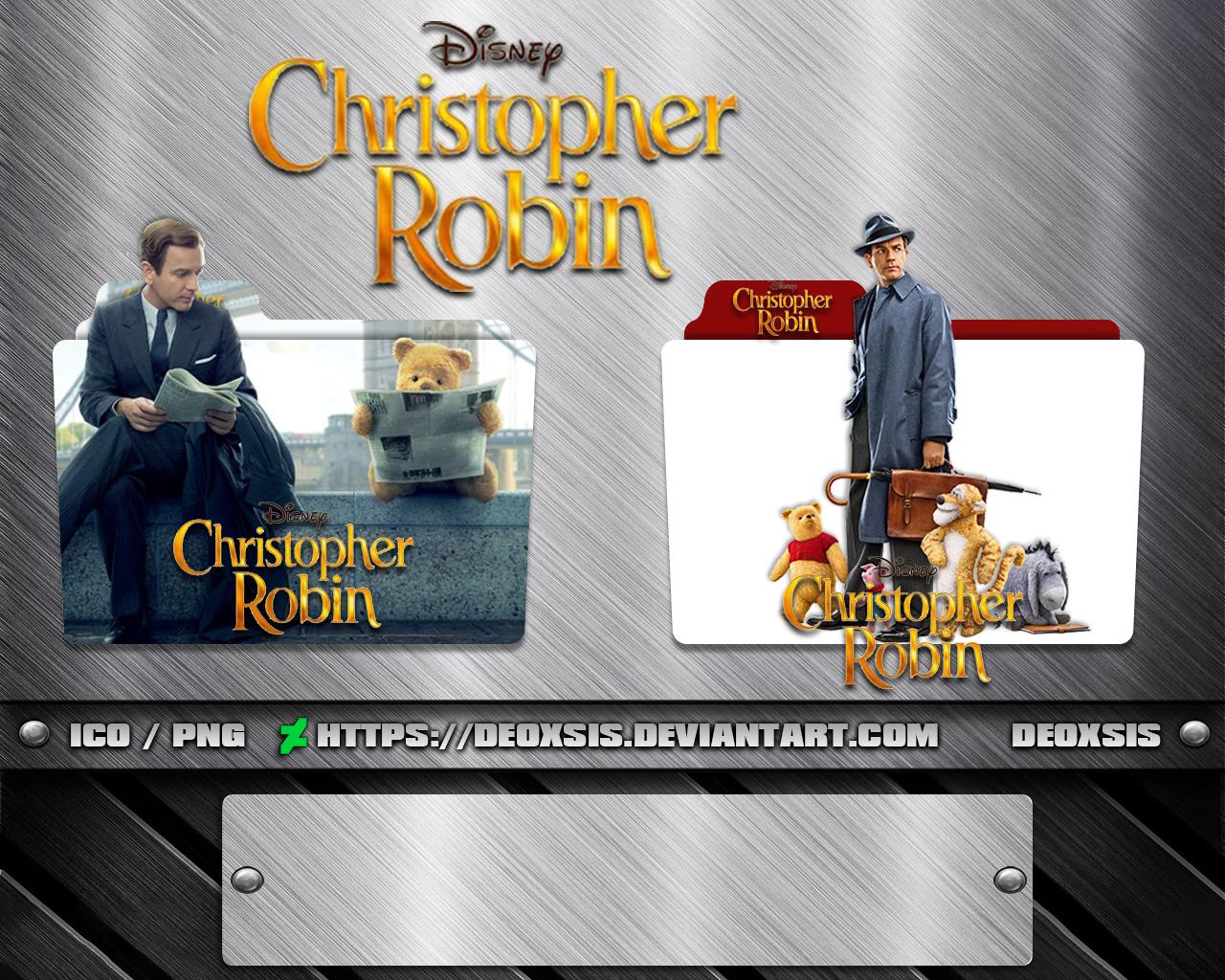 Christopher Robin 2018 Folder Icon Pack By Deoxsis On Deviantart