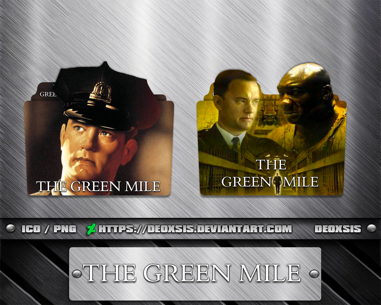 Green Mile 1999 Folder Icon Pack By Deoxsis On Deviantart