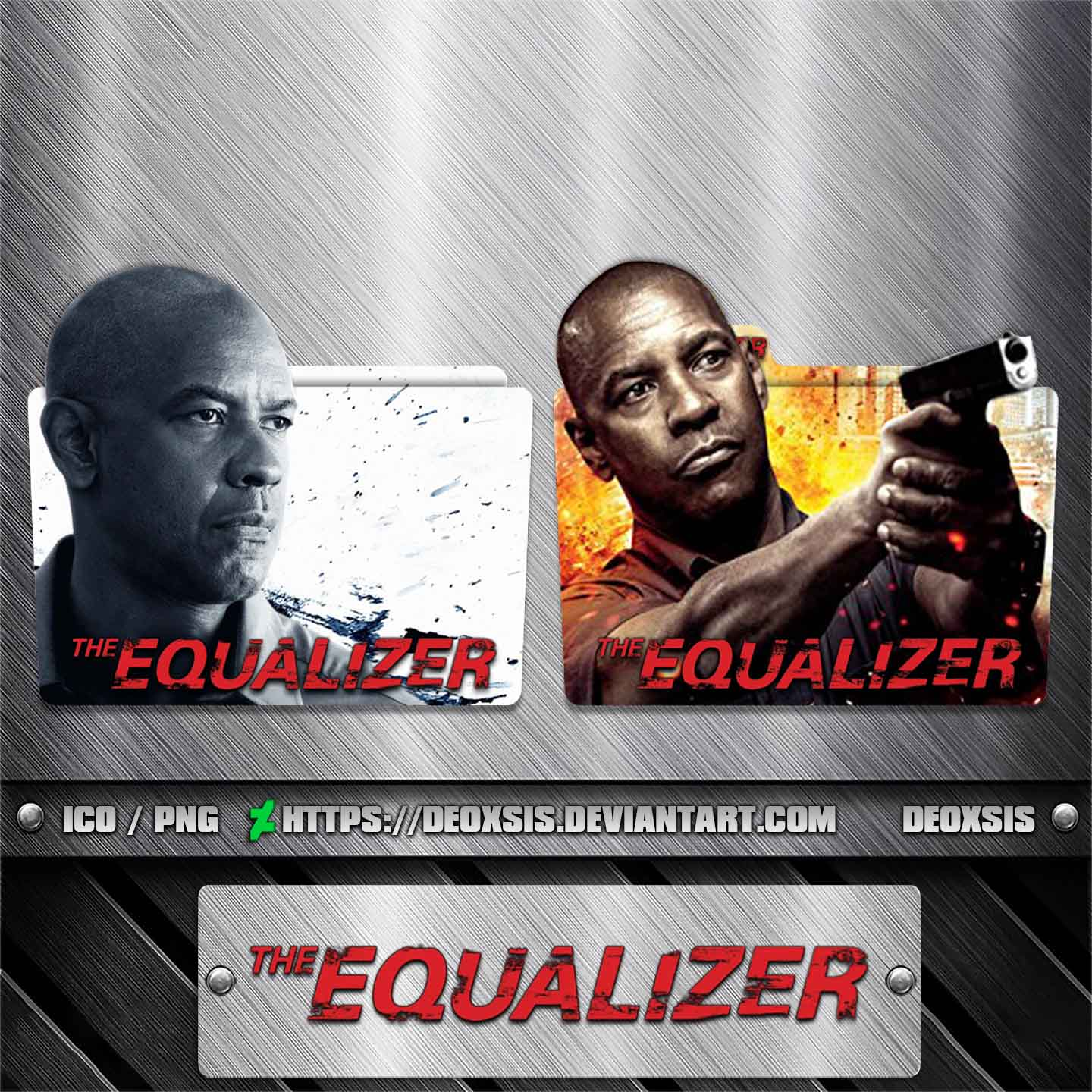 The Equalizer 2014 Folder Icon Pack By Deoxsis On Deviantart