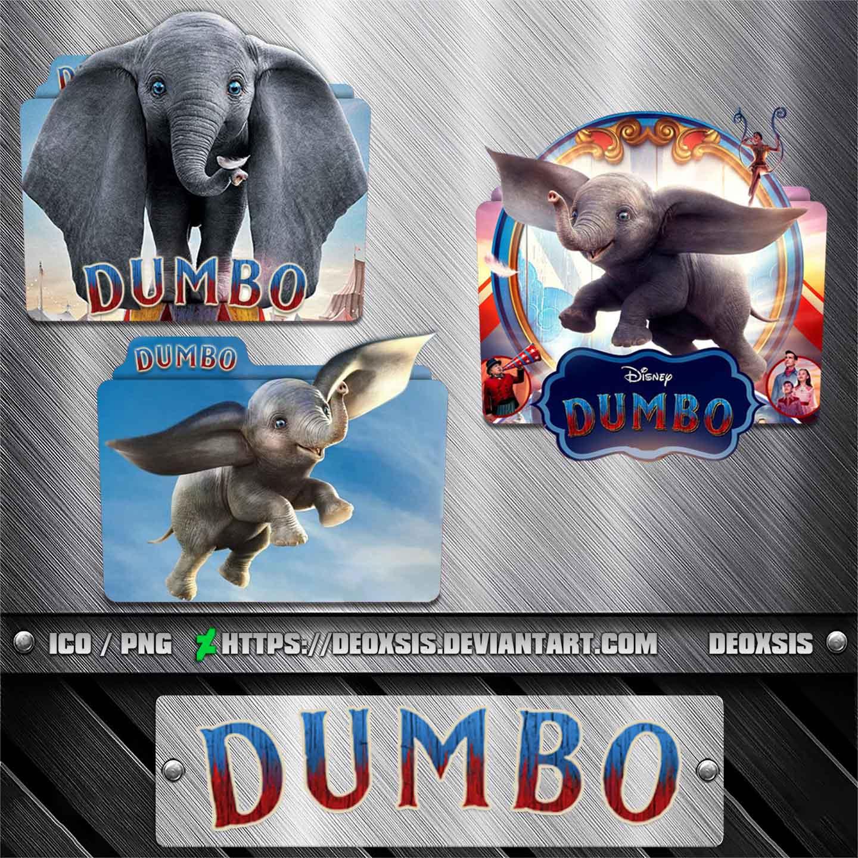 Dumbo 2019 Folder Icon Pack By Deoxsis On Deviantart
