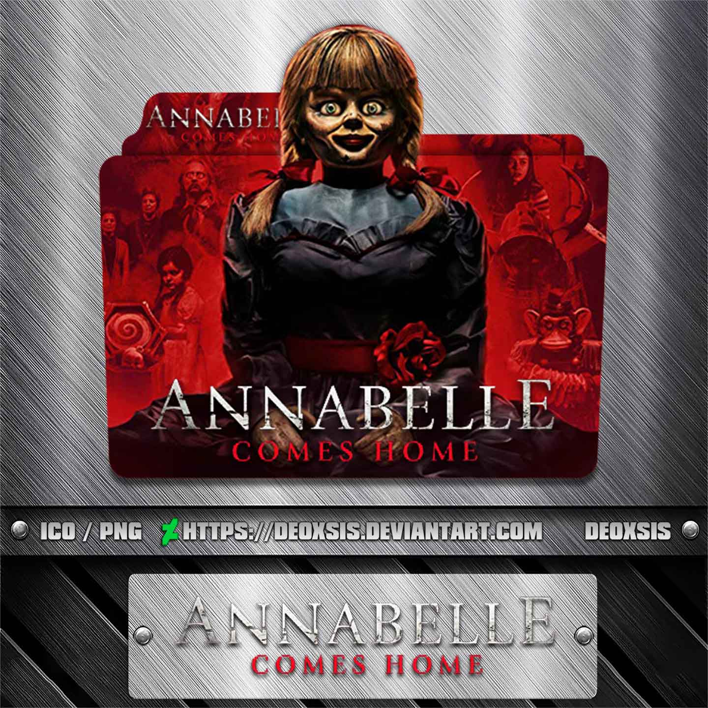 Annabelle Comes Home 2019 Folder Icon By Deoxsis On Deviantart