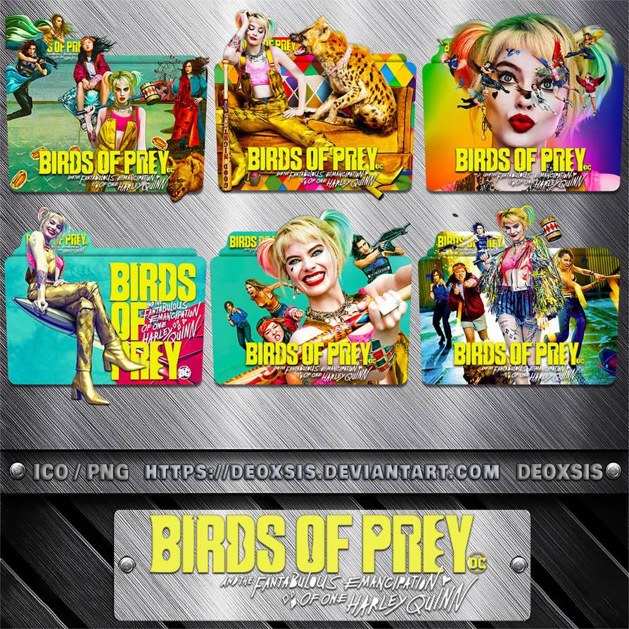 Birds Of Prey 2020 Folder Icon Pack By Deoxsis On Deviantart