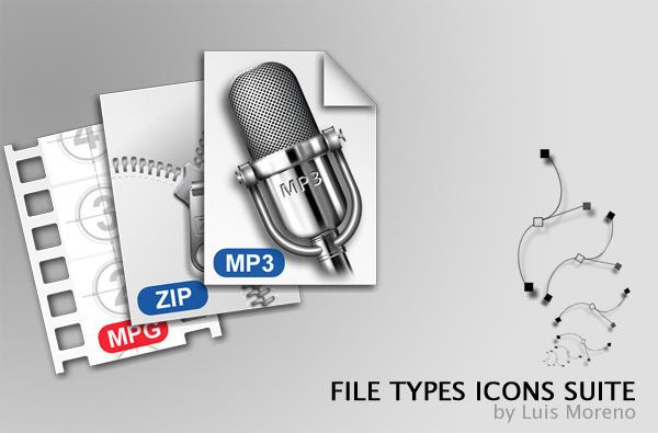 File Type Windows Icons by Mefistus