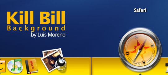 Kill Bill OD Backgrounds by Mefistus