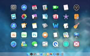 iOSX7 App Icons v2.3 by nateblunt