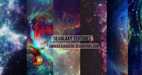 18 Galaxy Textures