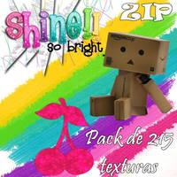 Pack de 215 texturas