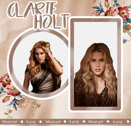 PNG PACK 4 - Claire Holt by MissLoyal