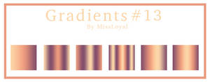 Gradients #13